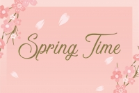 Spring Time - Coupon
